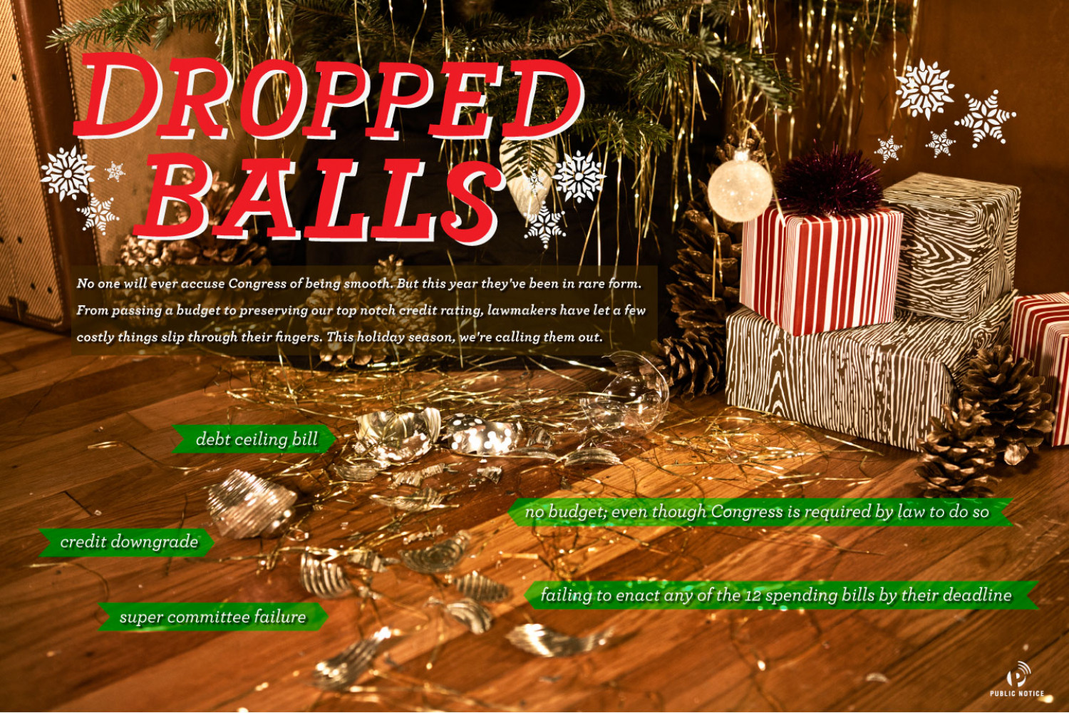 Dropped balls: a glance at shirked responsbilities Infographic