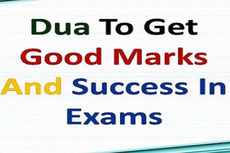 Dua for success in exam result Infographic