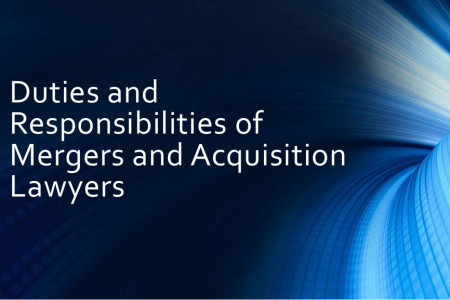 Duties and Responsibilities of Mergers and Acquisition Lawyers Infographic