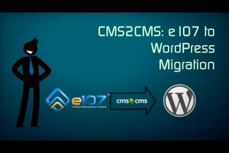 e107 to WordPress Migration Infographic