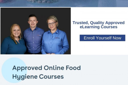 Earn Your Food Safety Certification Online Infographic