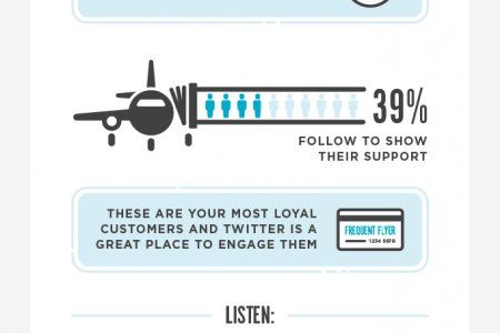 Earning Your Wings: How Online Merchants Can Take Off With Twitter Infographic