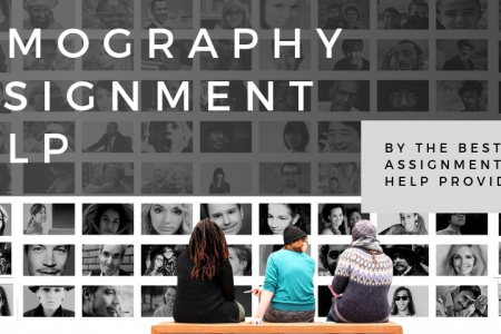 Ease past your Demography assignments in a breeze. Infographic