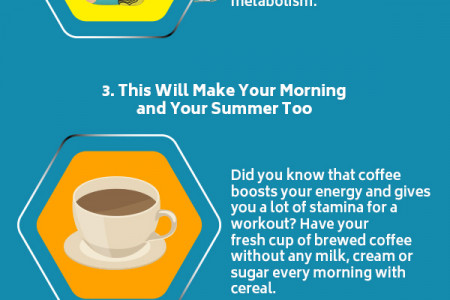 Easiest Way to Boost Metabolism and Get that Summer Bod Infographic