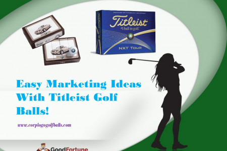 Easy Marketing Ideas With Titleist Golf Balls! Infographic