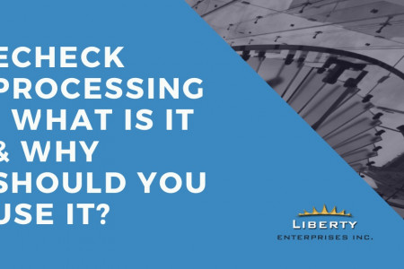 eCheck Processing - What Is It & Why Should You Use It? Infographic