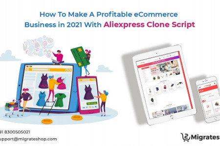 eCommerce Business Aliexpress Clone Script Infographic