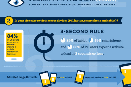 Ecommerce Customer Experience Infographic