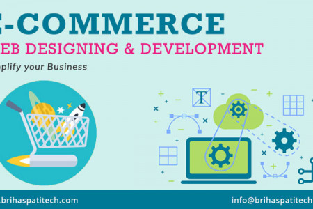Ecommerce Design And Development in USA Infographic