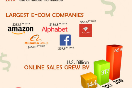 E-commerce Facts Infographic