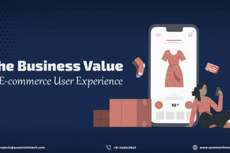 E-commerce UX: When a Great Experience Brings Business Value Infographic