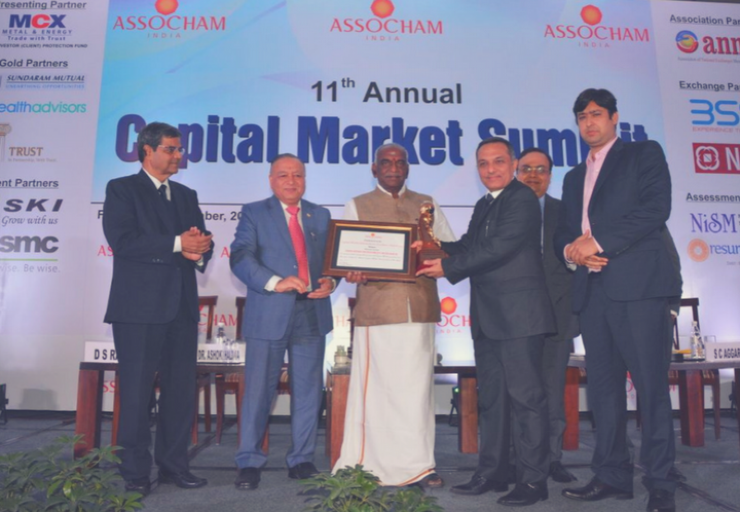 Edelweiss Investment Research Bags the Prestigious ASSOCHAM Award Infographic