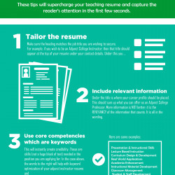 education resume writing tips and