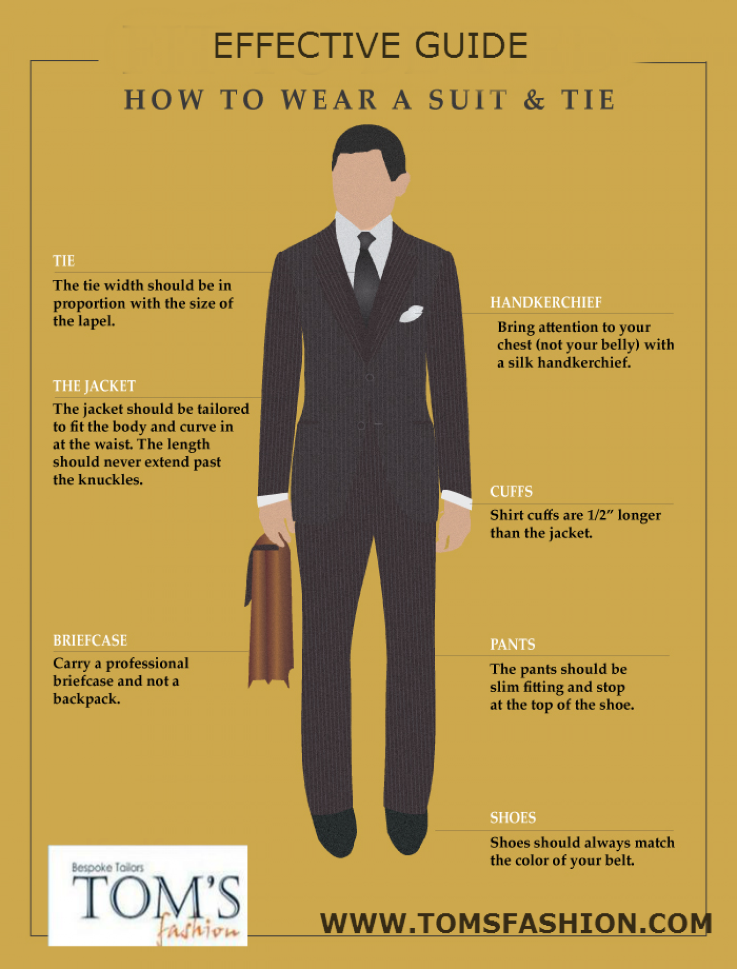 Effective Guide : How To Wear A Suit & Tiegraphic