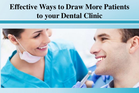 Effective Ways to Draw More Patients to your Dental Clinic Infographic