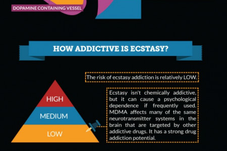 Effects of Ecstasy Addiction Infographic