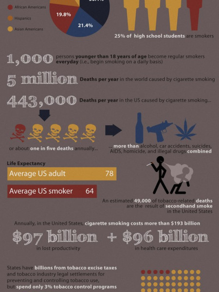 Effects of Smoking Infographic