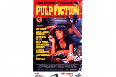 El cartel de Pulp Fiction   Infographic