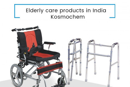 Elderly care products in India – Kosmochem Infographic