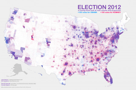 Election 2012 Infographic