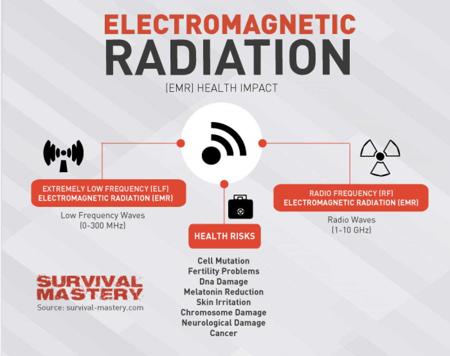 Electromagnetic Radiation Infographic Infographic