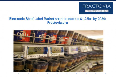 Electronic Shelf Label Market in full graphic e-paper segment to grow at 19% CAGR from 2016 to 2024 Infographic