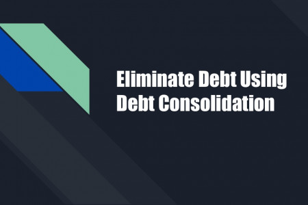 Eliminate Debt Using  Debt Consolidation Infographic