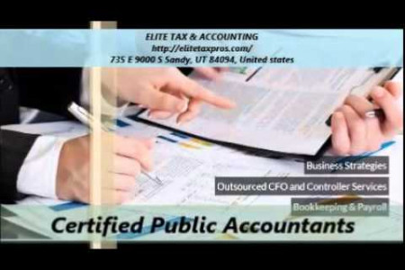 Elite Tax and Accounting Services Sandy Ut Infographic