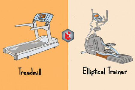 Elliptical vs. Treadmill: Which Is Better? Infographic