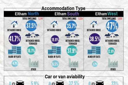 Eltham by the Numbers Infographic