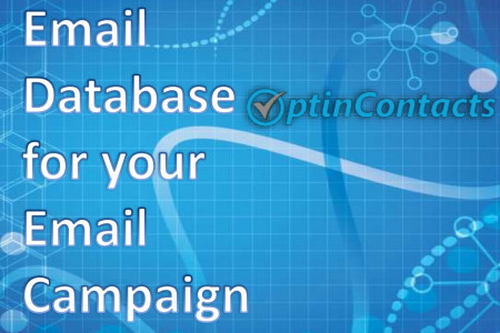 Email Database for Technology and Healthcare Companies Infographic