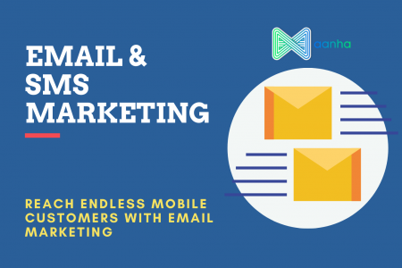 Email Marketing & SMS Marketing Infographic
