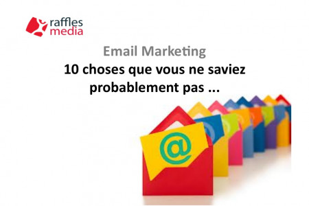 Email Marketing: 10 Choses que Vous ne Saviez Probablement Pas... Infographic