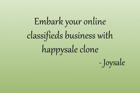 Embark your online classfieds business with happysale clone Infographic