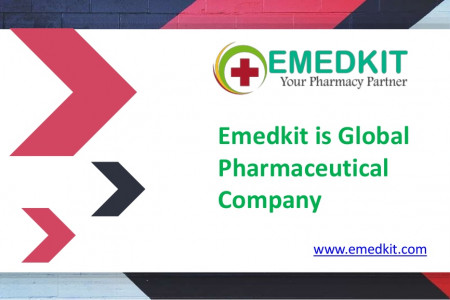 Emedkit is a Global Pharmaceutical Company and Exporter Infographic