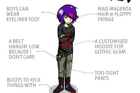Emo Style Rules! Infographic