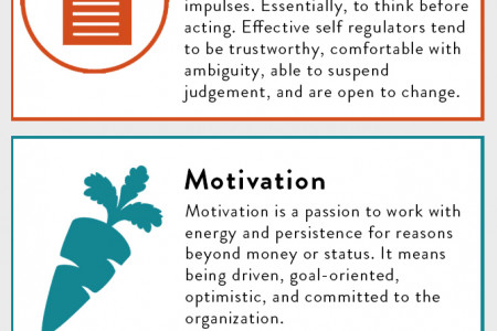 Emotional Intelligence Leadership Competencies Infographic