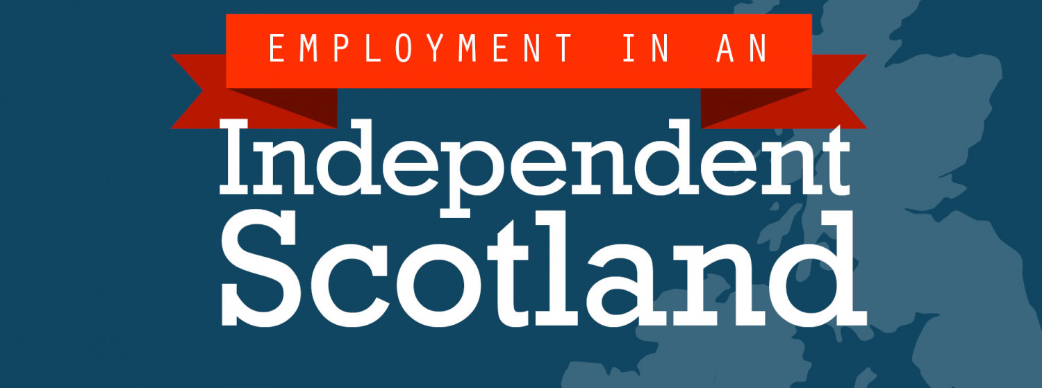 Employment in an Independent Scotland Infographic