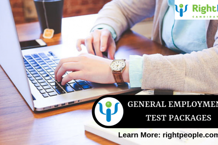 Employment Test  Packages for Different Job Levels  Infographic