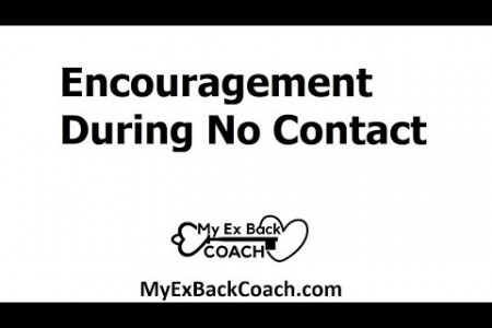 Encouragement During No Contact Infographic