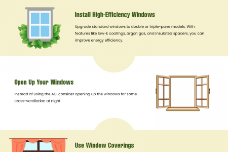Energy Efficiency Tips for Summer Savings 2020 Infographic