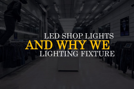 Energy Efficient LED Shop Lights at Low Price Infographic
