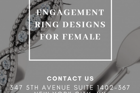 Engagement Ring Designs for Female Infographic