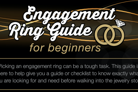 Engagement Ring Guide For Beginners Infographic