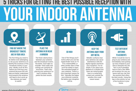 Enhancing Your TV Reception Infographic