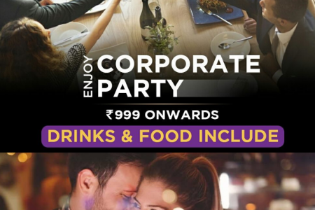 Enjoy Corporate party & Couple Dinner at 999 Restro & Lounge, Jaipur Infographic