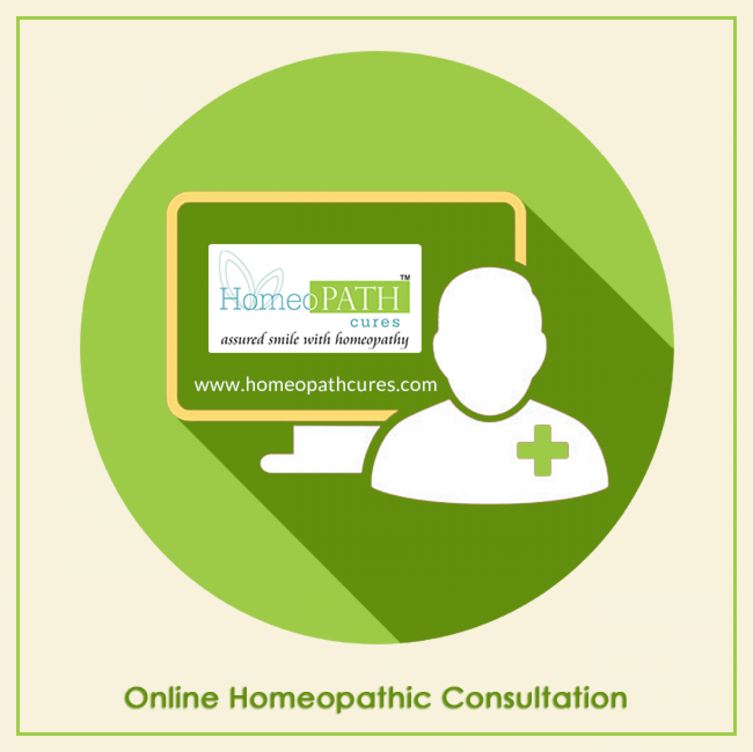 Enjoy The Homeopathic Consultation Online from Any Loacation Infographic