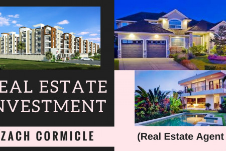 Enjoy the Real Estate profits with Zach Cormicle!! Infographic