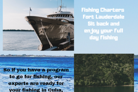 Enjoy with a fishing charter in Cuba Infographic