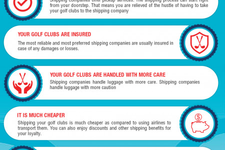 Enjoy your Golf Travel By Shipping your Golf Club with Shipping Company Infographic